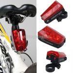 Задний фонарь для велосипеда Hoyou Sports с 2 лазерами 5 LED