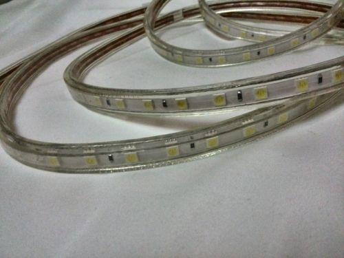 Водонепроницаемая LED лента smd 5050 холодное белое свечение, 60 led на 1 метр