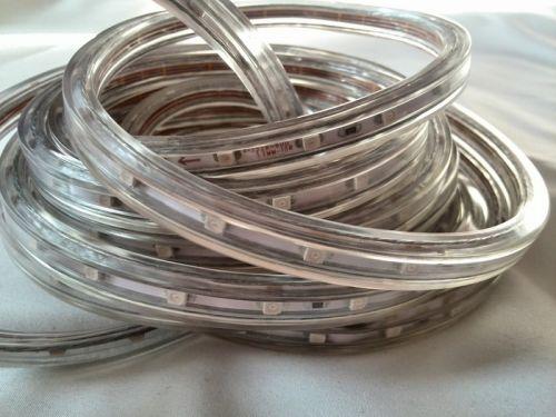 Светодиодная лента smd 3528 в силиконовой оболочке (водонепроницаемая), на белой основе, 60 led на 1 метр
