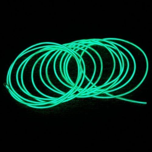 Гибкий зеленый неон холодного цвета свечения Flexible Neon