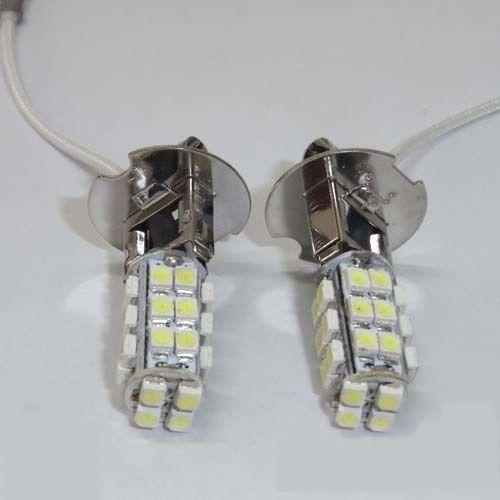 Светодиодная автолампа H3, 28 LED smd3528 холодного белого свечения