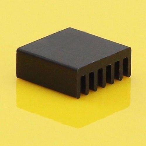 Радиатор охлаждения для светодиодов и карты памяти черный