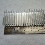 Радиатор охлаждения светодиодов, карт памяти... 150x60x25 мм