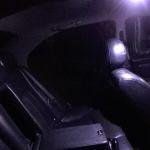 Светодиодная лампа для освещения салона автомобиля с 24 светящимеся элементами холодное белое свечение