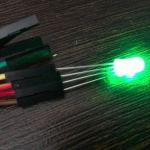 Светодиод Led RGB с общим катодом