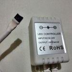 RGB контроллер с пультом 44 кнопки
