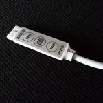 Контроллер mini для светодиодной ленты RGB с входом для сетевого блока питания