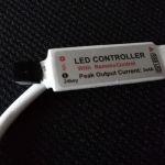 RGB контроллер mini с пультом управления 24 кнопки