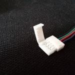 Коннектор LED CN2-10MM (для светодиодной ленты smd 5050 RGB, длина провода 15 см)