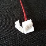 Коннектор LED CN2-8MM (для светодиодной ленты smd 3528, длина провода 15 см)