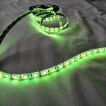 Светодиодная лента smd 5050 RGB, водонепроницаемая на белой основе, 60 led на 1 метр