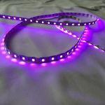 Светодиодная лента smd 5050 RGB, на белой основе, 60 led на 1 метр