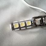 Светодиодная автолампа H3, 13 SMD 5050 LED холодного белого свечения