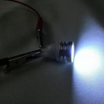 Светодиодная автолампа T10 HP × 1, 1 Вт холодного белого свечения