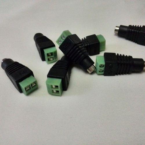 """Коннектор для подключения одноцветной светодиодной ленты к сетевому блоку питания (""""мама"""")"""