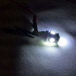 Светодиодная автолампа w5w, 5 LED smd 5050 холодного белого свечения