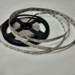 Светодиодная лента smd 5630, теплое белое свечение, на белой основе, 60 led на 1 метр
