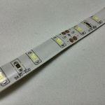 Светодиодная лента smd 5630, холодное белое, на белой основе (водонепроницаемая), 60 led на 1 метр