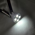 Светодиодная автолампа T10, 4 LED smd 3528 холодного белого свечения