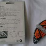 Светодиоды на спицы велосипеда в форме бабочки