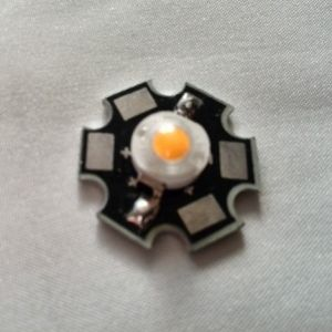 Светодиод LED Emitter Light with 20mm Star Base жёлтого свечения 1 Вт