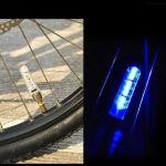 Светодиодные колпачки на колеса велосипеда образующие при вращении картинки и надписи