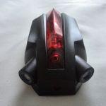 Задний фонарь Owimin с 2 лазерами 5 LED и изображением велосипеда