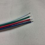 Четырехконтактный коннектор для светодиодной ленты RGB smd 5050, 3528 Папа