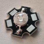 Алюминиевая площадка в форме звезды для крепления COB-диодов 1,3,5 Вт