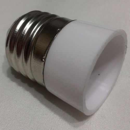 Переходник для светодиодной лампы с цоколя E27 на E14