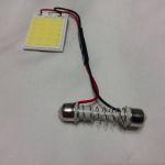 Переходник для светодиодной лампы для автомобиля на цоколь c5w