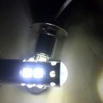 Светодиодная автолампа H3 Samsung, 10 LED CREE 50 Вт, холодного белого свечения
