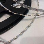 Светодиодная лента smd 335, холодное белое свечение, на белой основе, 120 led на 1 метр