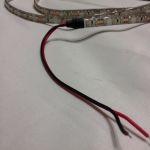 Светодиодная лента smd 3528 холодное белое свечение, на белой основе, (водонепроницаемая) 120 led на 1 метр (Высший класс)
