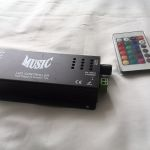 Музыкальный контроллер (led music controller)