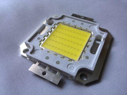 Светодиод High Power LED SMD Chip холодного белого свечения 50 Вт