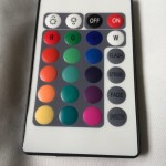 RGB контроллер ИК с пультом 24 кнопки 144 Вт