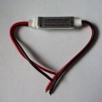 Диммер для одноцветной светодиодной ленты с пультом ИК