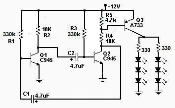 Как сделать мигающий светодиод?