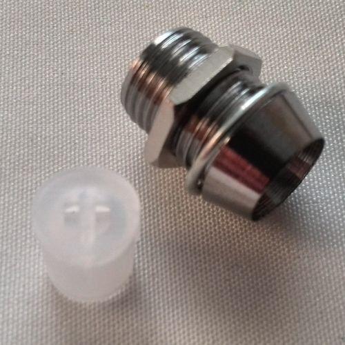Хромированный металлический светодиодный безель для DIP светодиодов
