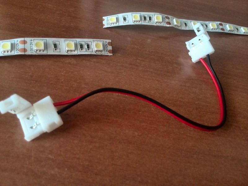 Как соединить светодиодную ленту между собой?