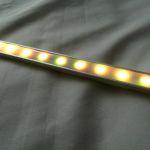 Алюминиевый накладной профиль MICRO для светодиодной ленты8