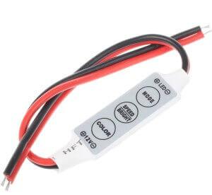 Диммер mini для одноцветной светодиодной ленты