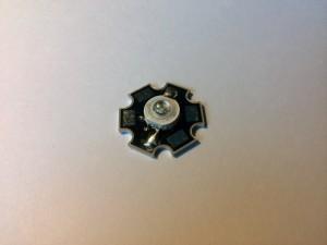 Светодиод LED Emitter Light with 20mm Star Base зеленого свечения 3 Вт