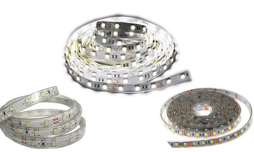 Светодиодные ленты с различной степенью защиты